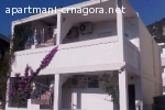Crna Gora,Canj,apartmani