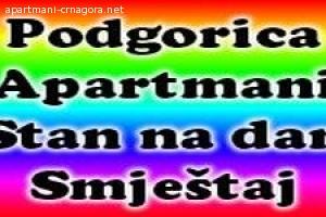 Stan na dan Podgorica - Dnevni najam apartmana